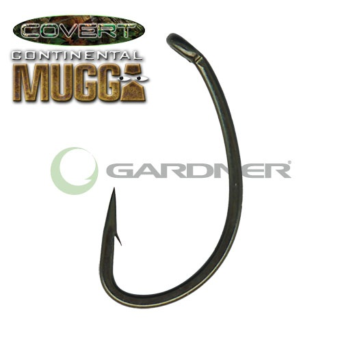 Крючки COVERT CONTINENTAL-MUGGA HOOKS BARBED