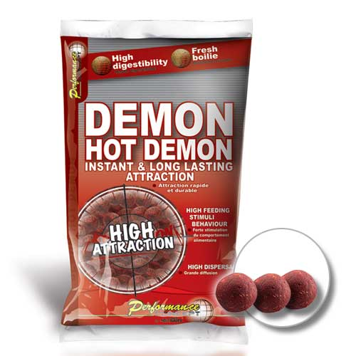 Бойлы Performance HOT DEMON Long Life Boilies 10мм 1кг