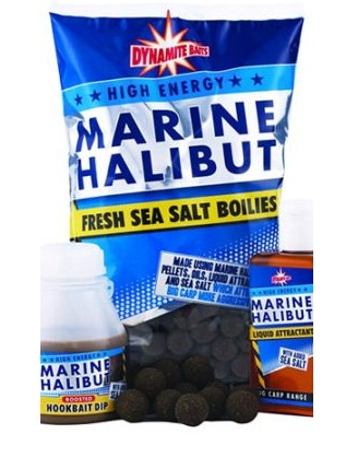 Бойлы Marine Halibut Sea Salt