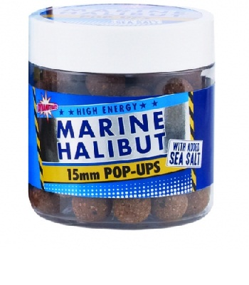 Бойлы плавающие Marine Halibut Pop-Ups 15mm