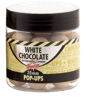Бойлы плавающие White Chocolate & Coconut Cream Pop-Ups 15mm