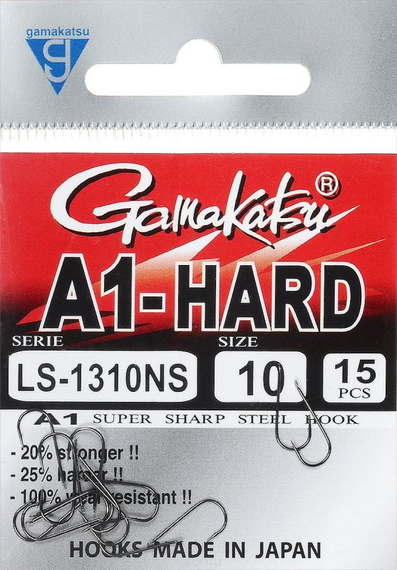 Крючки A1 LS-1310NS Hard (15шт)