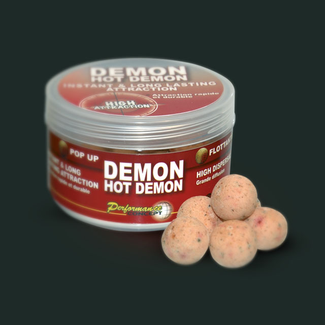 Бойлы POP UP HOT DEMON 14мм.