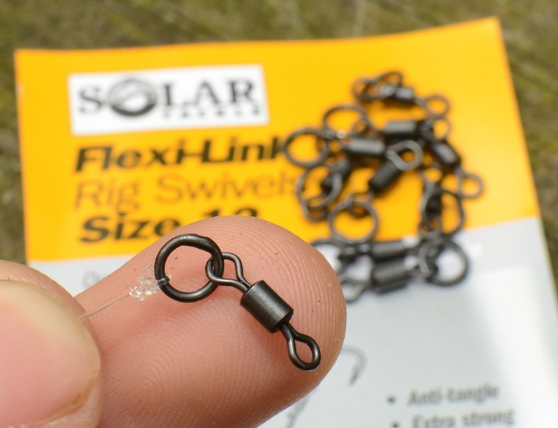 Вертлюг с кольцом Flexi-Link Rig Swivels