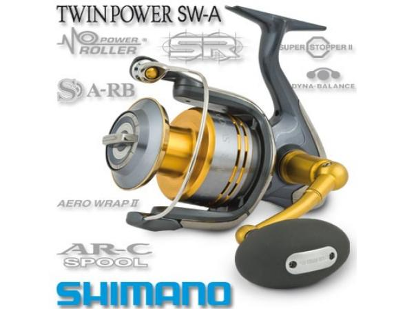 Катушка Shimano TWIN POWER 5000 SW-A