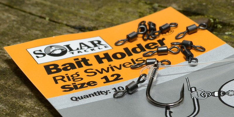 "Solar Вертлюг для D-Rig ""Bait Holder Rig Swivels"""