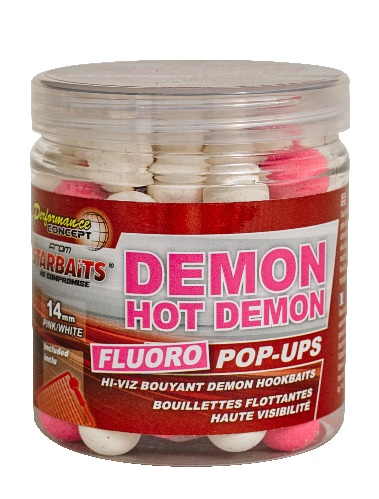 Бойлы HOT DEMON Fluo Pop-ups 14мм