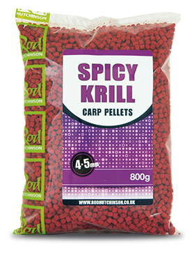 "Пелетс ""Spicy Krill Carp Pellets""  800gr"