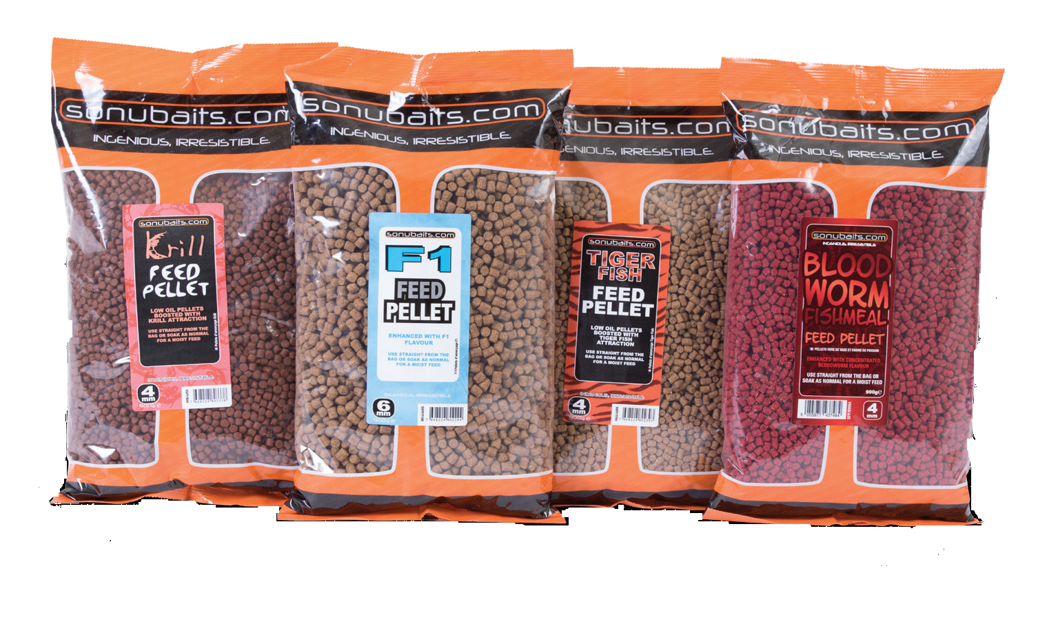 Sonubaits Пеллетс Bloodworm Fishmeal Feed