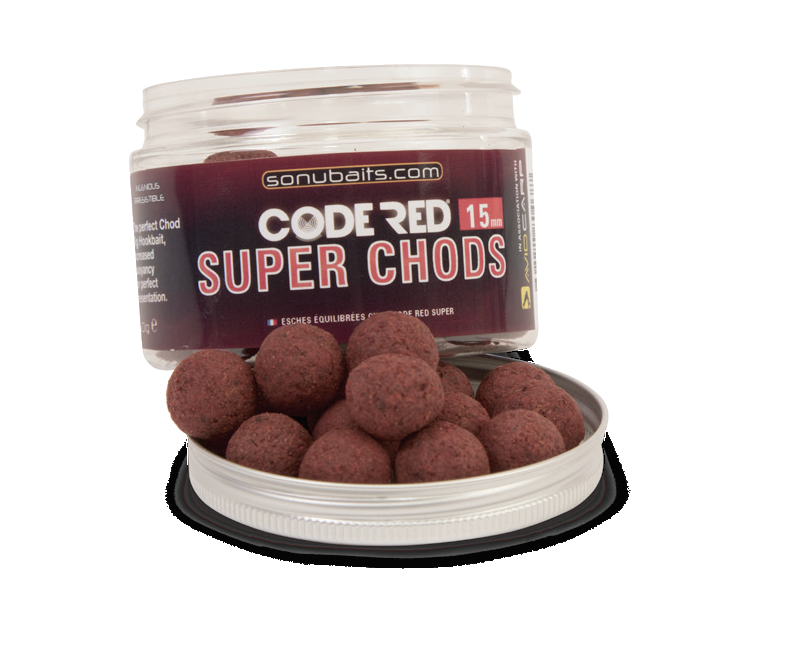 "Бойлы плавающие ""Code Red Super Chods"" 15mm"