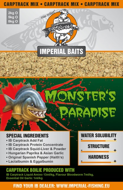 Imperial Baits Базовый микс Carptrack Monsters Paradise Mix 2 kg