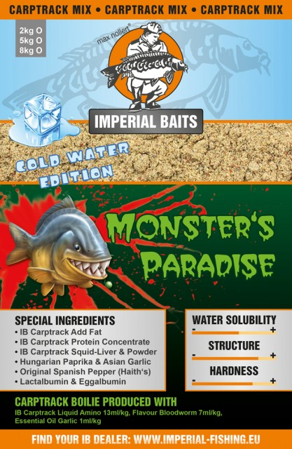Imperial Baits Базовый микс Carptrack Monsters Paradise CW(Х.Вод) Mix 2 kg