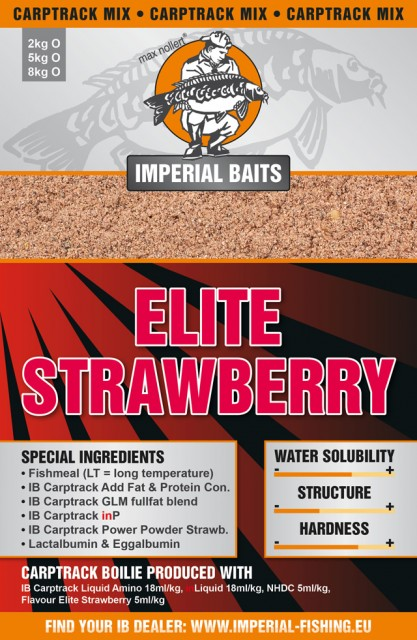 Imperial Baits Базовый микс Carptrack Elite STRAWBERRY Mix 2 kg