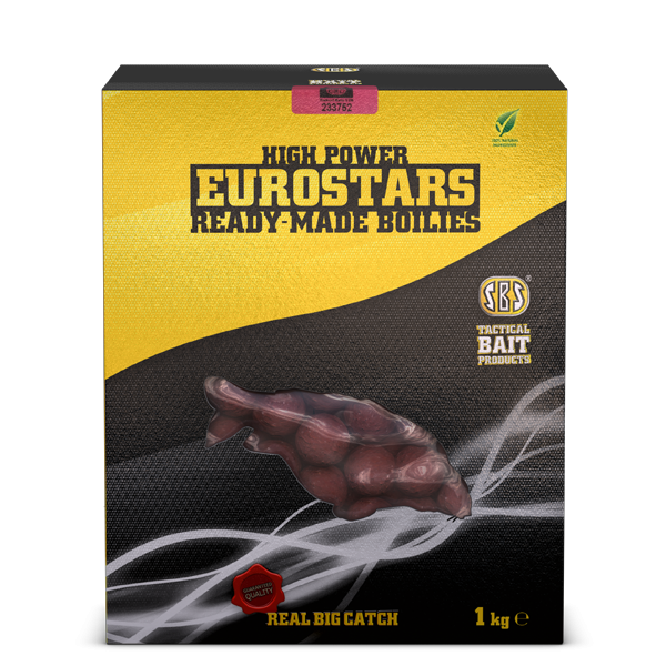SBS Baits Бойлы Eurostar Squid Octopus & Strawberry Jam 1кг