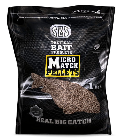 SBS Baits Пеллетс MicroMatch Betain Scopex (Скопекс) 1,5мм 1кг