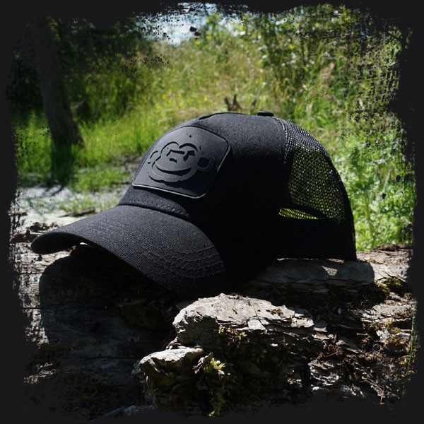 Бейсболка Trucker Cap Black (Черная)