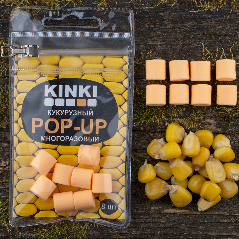 Kinki Baits Кукурузный Pop-up Orange
