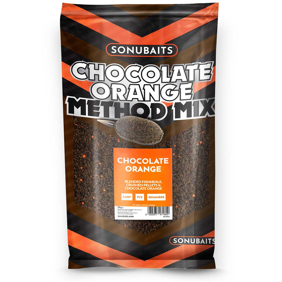 Прикормка Chocolate Orange Method Mix 2кг.