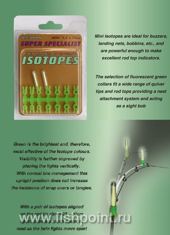 Super Specialist Isotopes