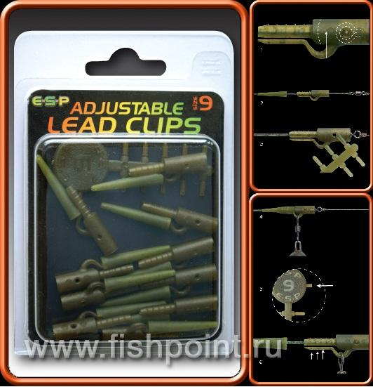 Adjustable Lead Clip