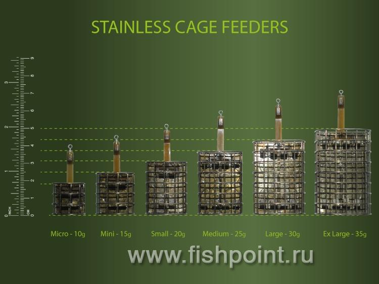 Oval Cage Feeder