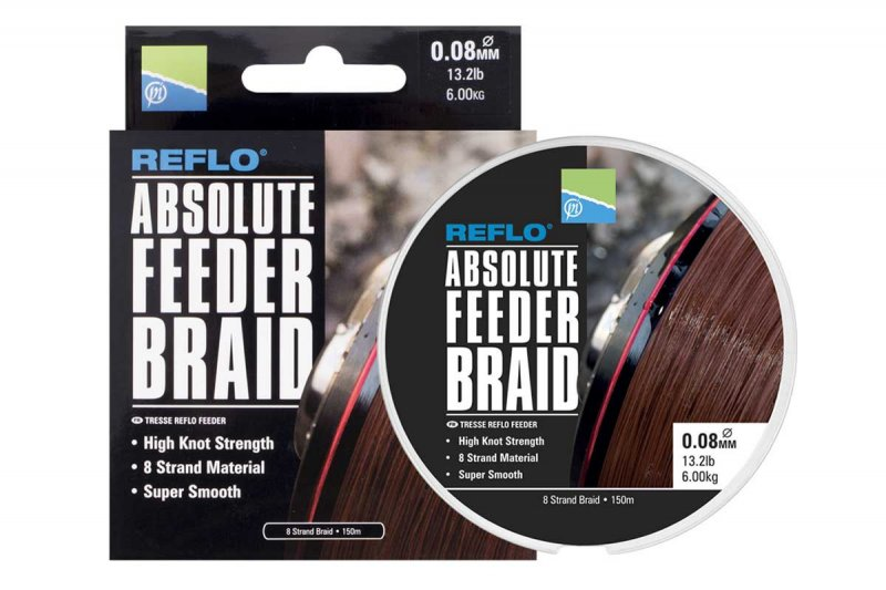 Шнур Absolute Feeder Braid 150 метров