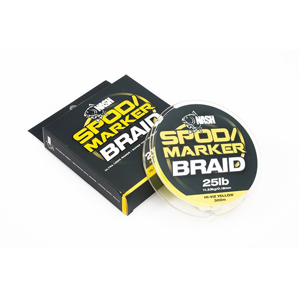 Плетеный шнур Spod and Marker Braid Hi-Viz Yellow